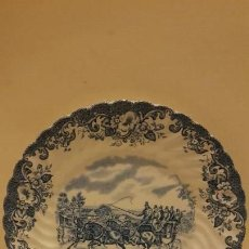 Antigüedades: PLATO DE COACHING SCENES JOHNSON BROS.. Lote 142285750