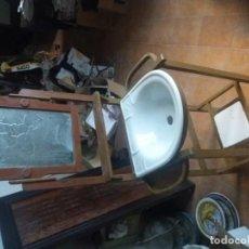 Antigüedades: MUEBLE AGUAMANIL ANTIGUO. Lote 142292374