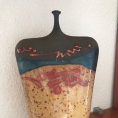 Antigüedades: JARRÓN CERÁMICA JOAN CARRILLO. Lote 142298024