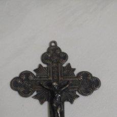 Antigüedades: HERMOSA CRUZ METALICA. Lote 142363818
