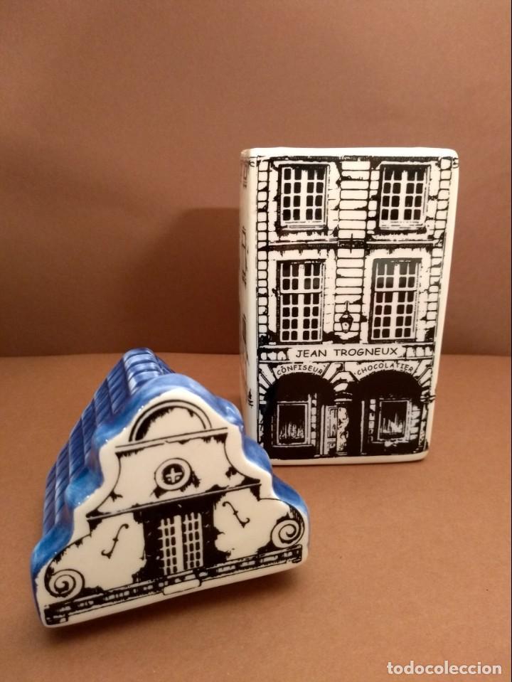 Antigüedades: Galletero en forma de Maison des Flandres - Foto 4 - 142403418