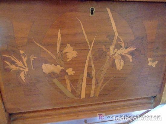 Antigüedades: ESCRITORIO MODERNISTA - Foto 4 - 142406846