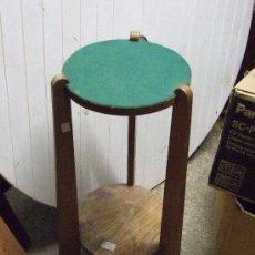 Antigüedades: PEANA DE ROBLE. Lote 142408682