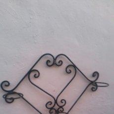 Antigüedades: JARDINERAS ANTIGUAS HIERRO. Lote 142448713