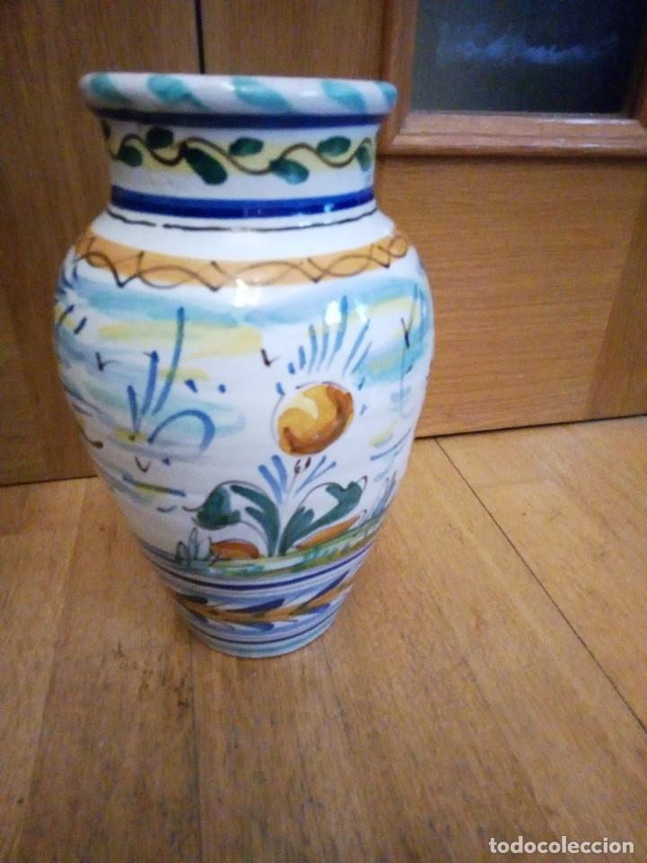 Antigüedades: Jarrón de ceramica de Triana - Foto 4 - 142477734