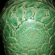Antigüedades: JARRON CELADON ALTO62CM.. Lote 142478108