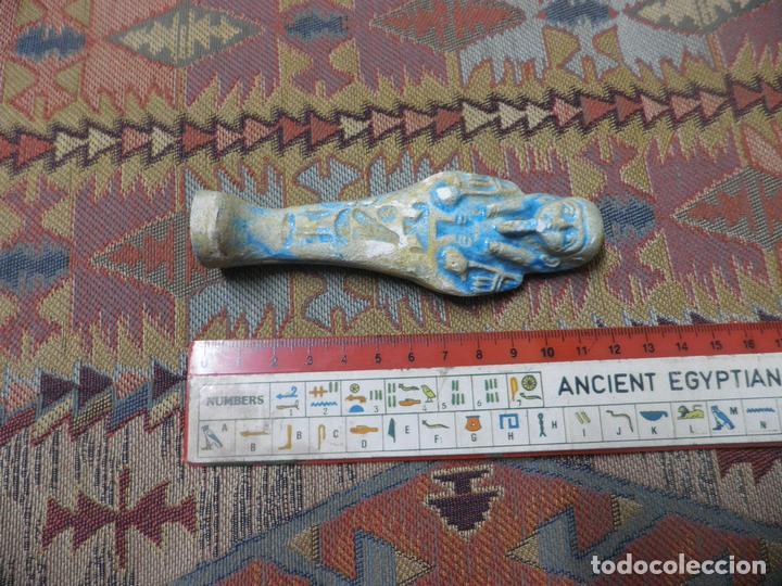 Antigüedades: Ushebti egipcio - Foto 3 - 142486254