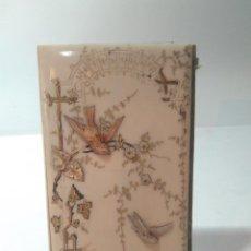 Antigüedades: CARNET DE BAILE. MARFIL. S.XIX. . Lote 142511622