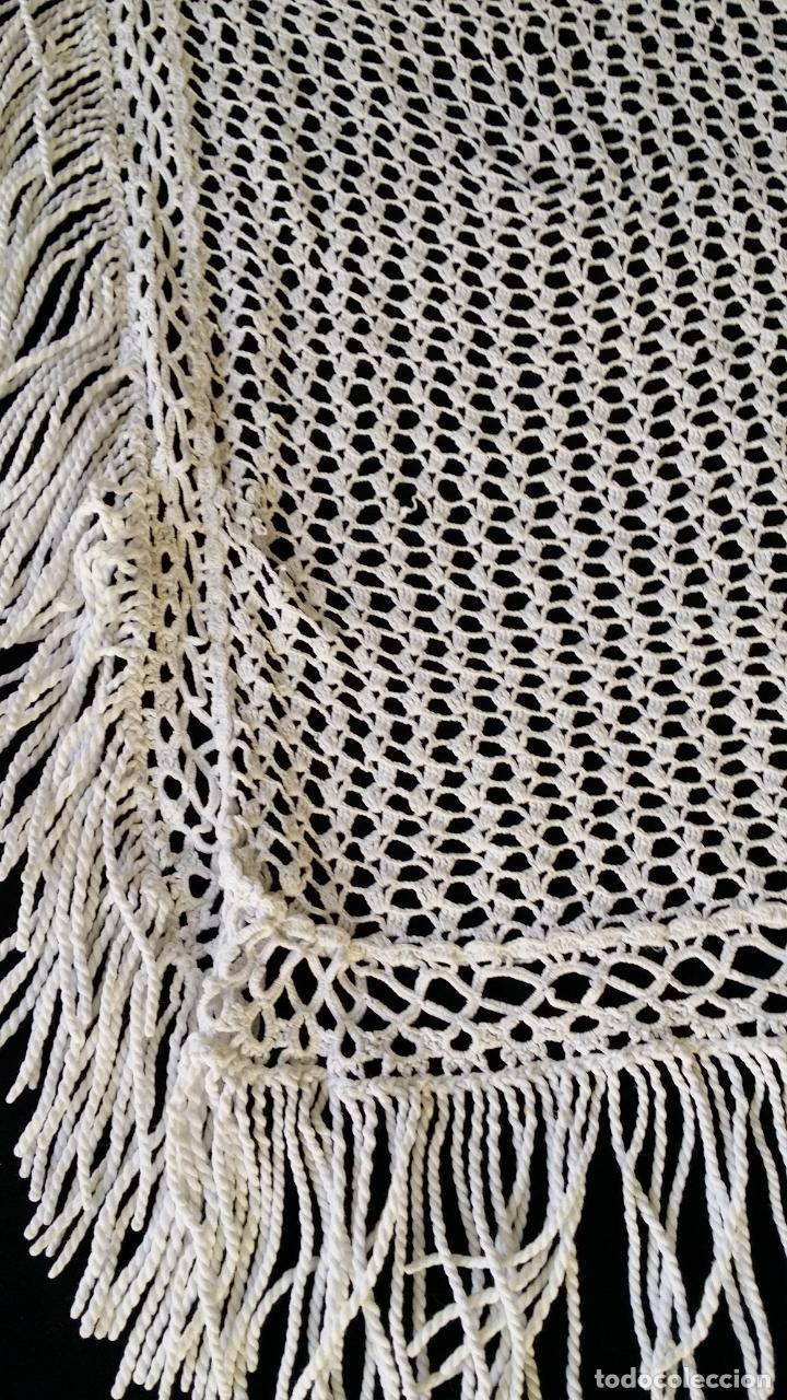 Antigüedades: Antigua cortina en crochet / ganchillo - Foto 15 - 142517710