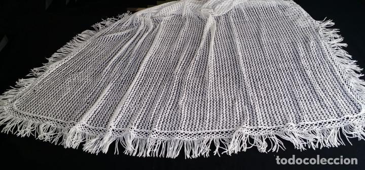 Antigüedades: Antigua cortina en crochet / ganchillo - Foto 18 - 142517710