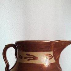 Antigüedades - Jarra reflejo metalico de Brisol ( lnglaterra ) - 142528642