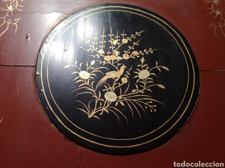 Antigüedades: Maravilloso mantón antiguo con su caja original - Foto 6 - 142547693