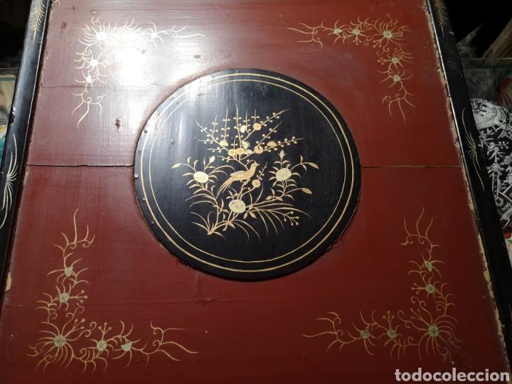 Antigüedades: Maravilloso mantón antiguo con su caja original - Foto 7 - 142547693