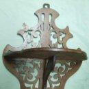 Antigüedades: REPISA CAOBA S.XIX. Lote 142584034