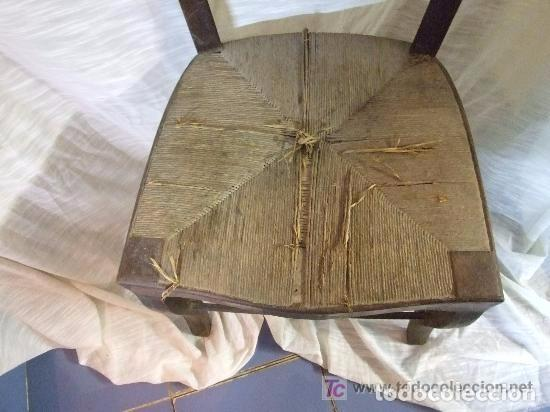 Antigüedades: SILLA DE CAOBA S. XIX - Foto 5 - 142584790