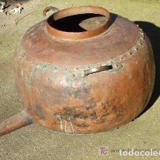 Antigüedades: ALAMBIQUE DE COBRE, PARTE INFERIOR. Lote 142585226