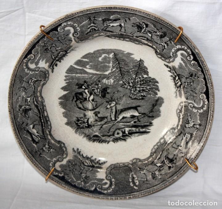 PLATO DE CARTAGENA -FABRICA LA AMISTAD. (Antigüedades - Porcelanas y Cerámicas - Cartagena)