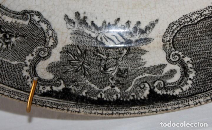 Antigüedades: PLATO DE CARTAGENA -FABRICA LA AMISTAD. - Foto 4 - 142592554