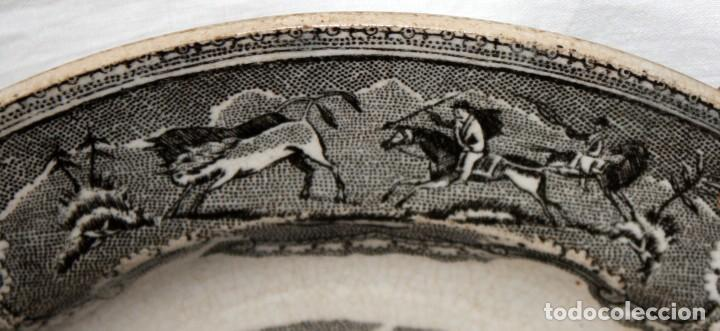 Antigüedades: PLATO DE CARTAGENA -FABRICA LA AMISTAD. - Foto 6 - 142592554