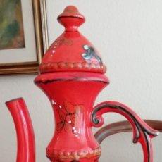 Antigüedades: JARRON DE CERAMICA PORTUGUESA. Lote 142622022