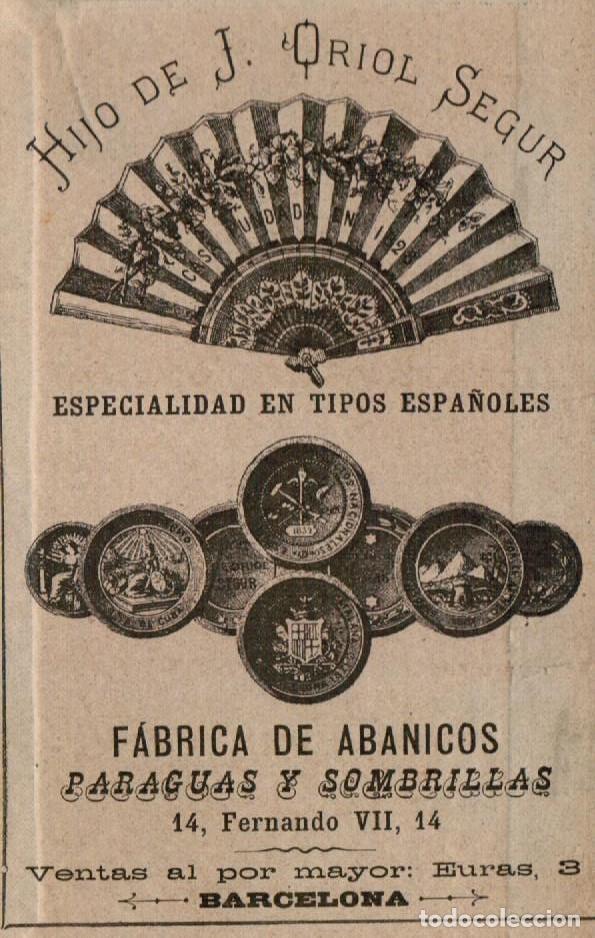 Antigüedades: ABANICO ISABELINO, VARILLAJE EN NÁCAR DE ORNAMENTACIÓN FLORAL. SEGUNDO TERCIO S. XIX. - Foto 31 - 142645614