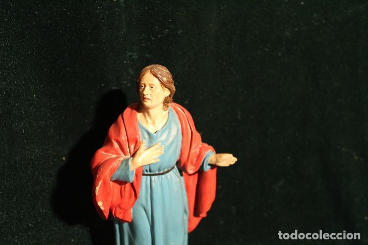 Antigüedades: ESCULTURA SANTO EN BARRO TARRACOTA - Foto 15 - 142670894