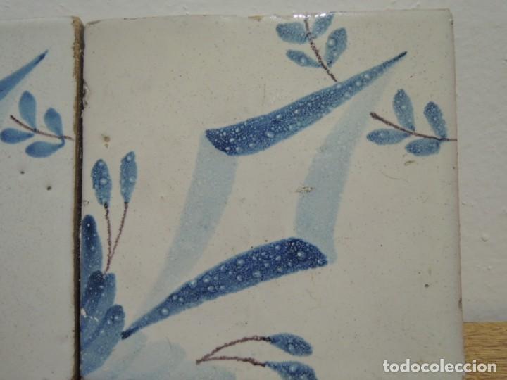 Antigüedades: CUATRO AZULEJOS ANTIGUOS DE CERÁMICA CATALANA - Foto 16 - 142682438