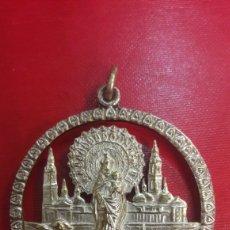 Antigüedades: MEDALLA VIRGEN PILAR ZARAGOZA. Lote 142701490