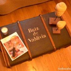 Antigüedades: ANTIGUO BAÚL DE VIAJE ALEMÁN. Lote 142701498