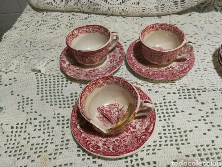 TAZAS DE CAFÉ PICKMAN (Antigüedades - Porcelanas y Cerámicas - La Cartuja Pickman)