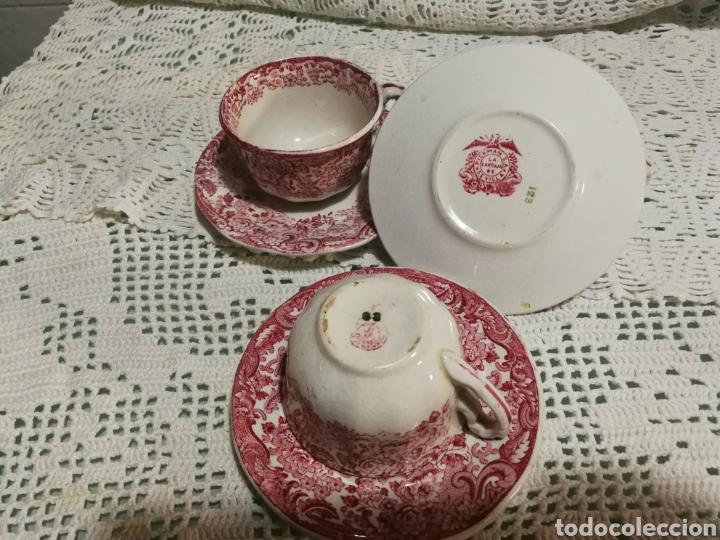 Antigüedades: Tazas de café PICKMAN - Foto 2 - 142734121
