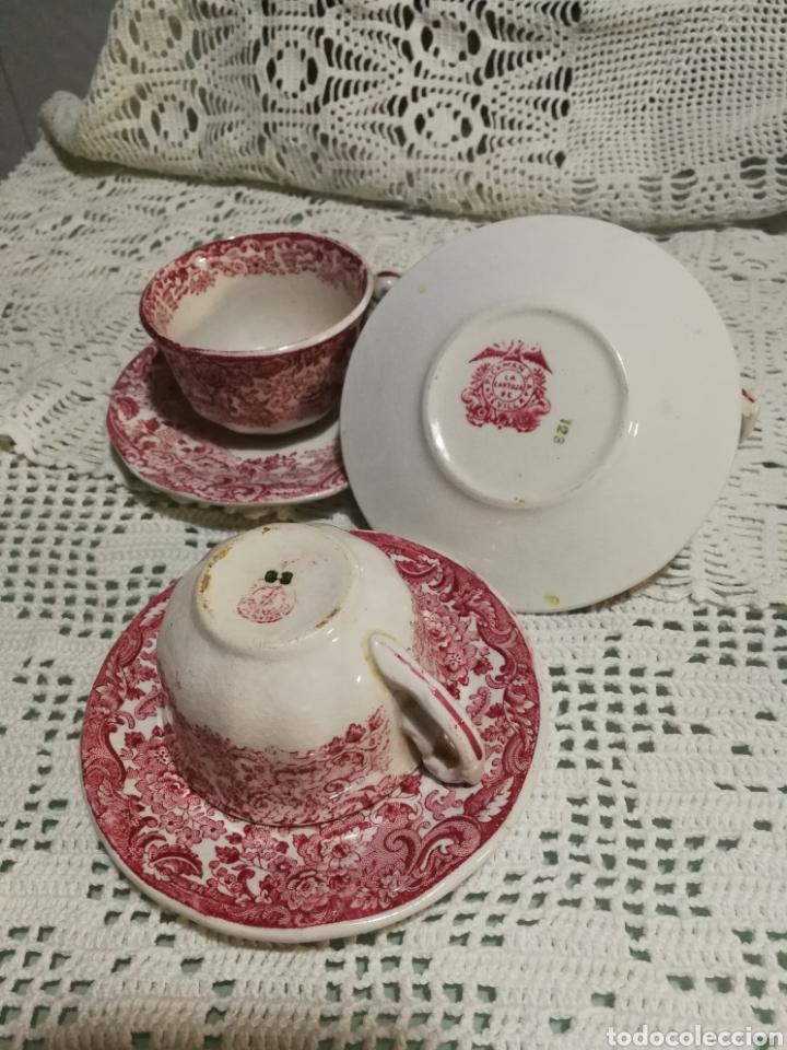 Antigüedades: Tazas de café PICKMAN - Foto 3 - 142734121