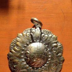 Antigüedades: ANTIGUA MEDALLA DE CUNA DE METAL AÑOS 50/60. Lote 142765530