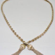Antigüedades: COLLAR / CINTURÓN DE PLATA DE LEY 925. Lote 142774798