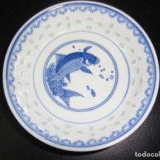 Antigüedades: 1 VASO CHINO HECHO EN MACAO - 10 CM. Lote 142778046