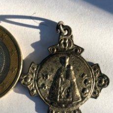 Antigüedades: MEDALLA ANTIGUA COLGANTE VIRGEN. Lote 142784930