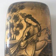 Antigüedades: CAJA ANTIGUA INDIA PAPIER MARCHÉ. Lote 142785390