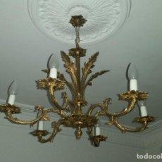 Antigüedades: LAMPARA TECHO. Lote 142787370