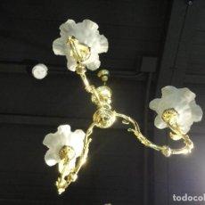 Antigüedades: LAMPARA DE TECHO MODELO DE 1860. Lote 142815118