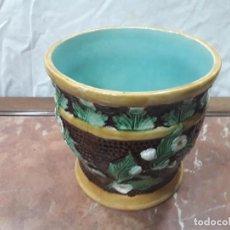Antigüedades: JARDINERA MODERNISTA. Lote 142826670
