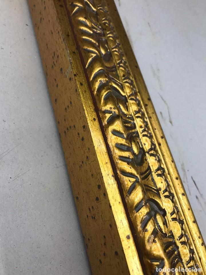 Antigüedades: EXCELENTE MOLDURA DE BUENA CALIDAD. PARA 61X50 (F12). A ESTRENAR. 10,5 DE ANCHO. - Foto 2 - 142833832