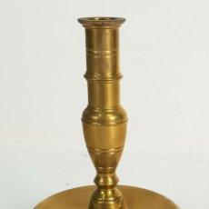 Antigüedades: CANDELABRO DE ALTAR. BRONCE. ESPAÑA. SIGLO XIX-XX. . Lote 142854254