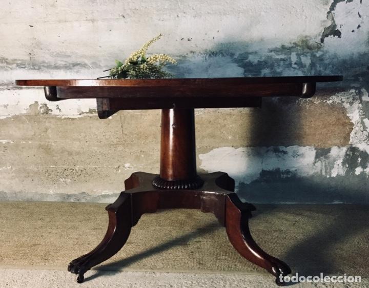 Antigüedades: Mesa de baile abatible Chippendale - Foto 2 - 142886630