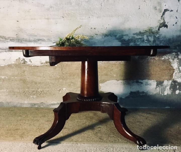 Antigüedades: Mesa de baile abatible Chippendale - Foto 3 - 142886630