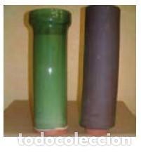 TUBO HEMBRA. VITRIFICADO (Antigüedades - Porcelanas y Cerámicas - La Bisbal)