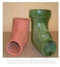 CODO DIBUJO HEMBRA. VITRIFICADO (Antigüedades - Porcelanas y Cerámicas - La Bisbal)