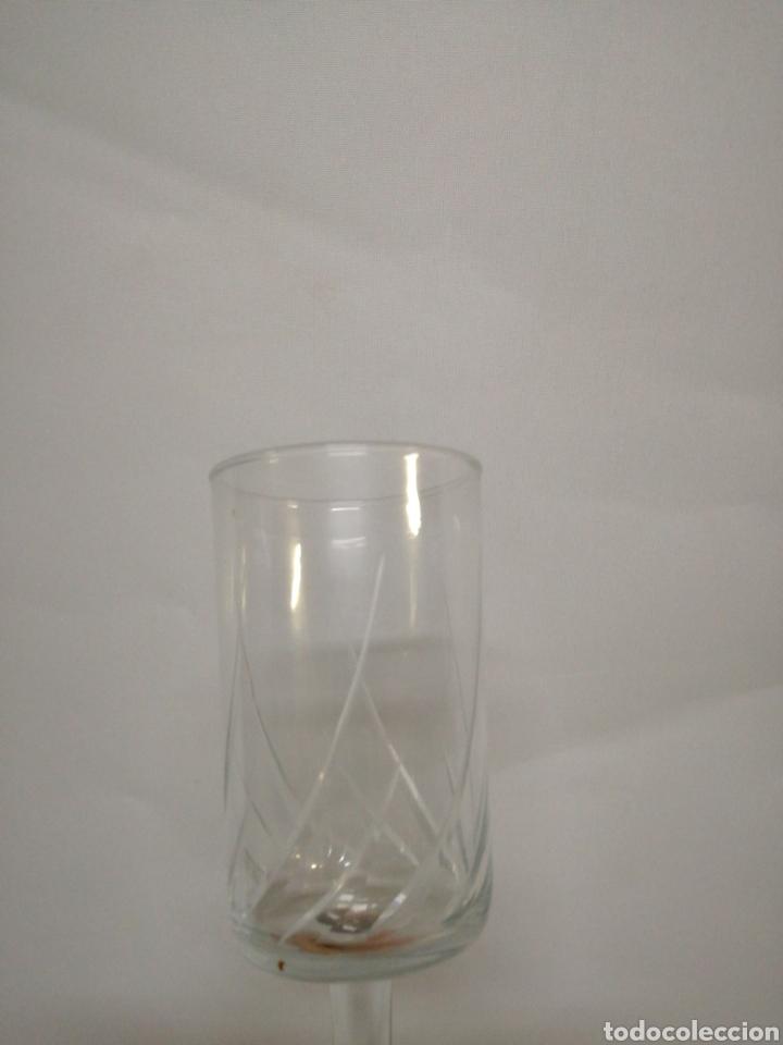 Antigüedades: Cristaleria de 48 copas varios tamaños vintage - Foto 2 - 142979134