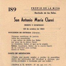 Antiquitäten - PROPIO DE MISA 1965 - 143033994