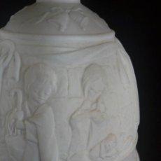 Antigüedades: CAMPANA NAVIDEÑA DE LLADRÓ EN BISCUIT DE DOS TONOS. 1995. SELLO EN INTERIOR.. Lote 143044742