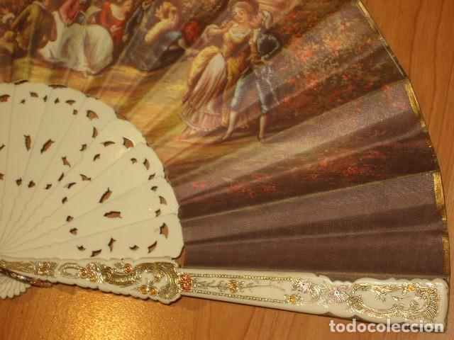 Antigüedades: ABANICO IMAGEN LITOGRAFIADA. - Foto 6 - 143051234